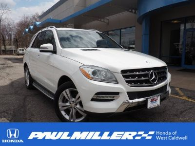 2015 Mercedes-Benz M-Class ML350 4MATIC (white)