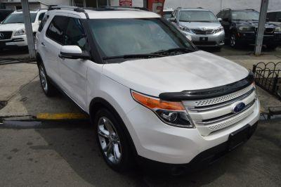 2011 Ford Explorer Limited (White Platinum Metallic Tri-coat)