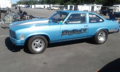 1976 Chevrolet Nova Winning Drag Race Car