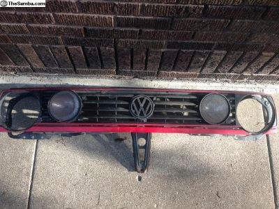 MK2 Grill w/ lights+support
