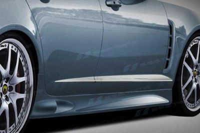 Purchase SES Trims TI-CM-152 09-11 Jaguar XF Side Molding Car Chrome Trim Stainless Steel motorcycle in Bowie, Maryland, US, for US $150.00