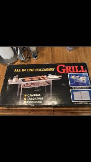 All-In-One Foldaway Grill, ASKING $20