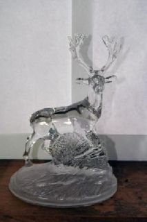 $40 OBO Cristal d'Arques Lead Crystal Stag/Deer