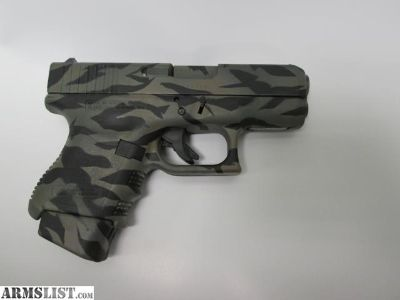 For Sale: Pre Owned Glock 26 9mm Tiger Camo