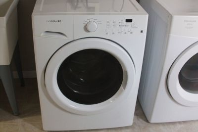 Frigidaire ENERGY STAR Front Load Washer and Affinity Dryer