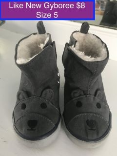Gymboree Toddler Boots Size 5