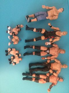 Old WWF action figures
