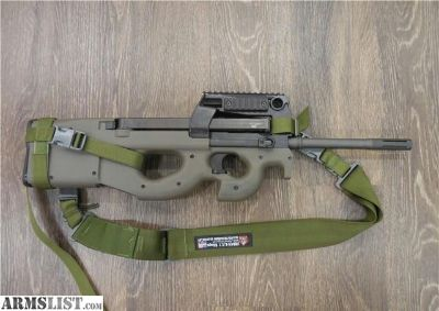 For Sale: USA EARLY PS90 OD GREEN W/ GEN2 TRIGGER 5.7X28