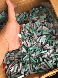 Lots of old phone buttons! Craft project? Paint and mosaic? The possibilities are endless!!