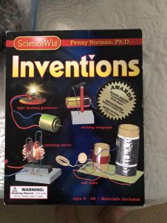 New. Inventions box of activities