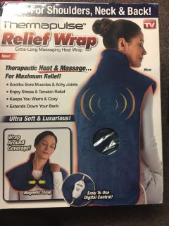 Brand new as seen on TV thermapulse relief wrap
