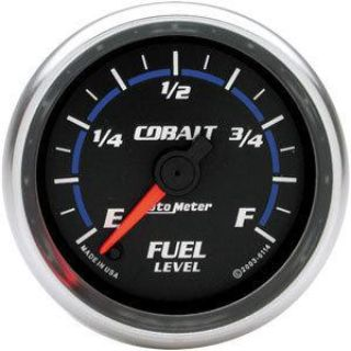 Buy AutoMeter 6114 Cobalt Full Sweep Fuel Level Gauge motorcycle in Suitland, Maryland, US, for US $141.14
