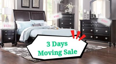 3 Days Moving Sale