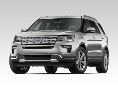 2019 Ford Explorer XLT (Oxford White)