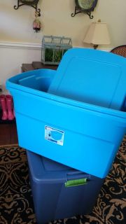 30 Gallon tote with Lid
