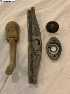 Golde sunroof crank, cable slider, gear/housing