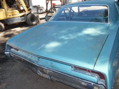 Find 67 68 1967 168 PONTIAC CATALINA GRAND PRIX REAR BACK TRUNK DECK LID motorcycle in Albert Lea, Minnesota, United States, for US $148.00