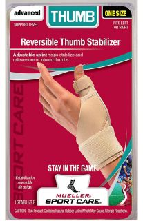 Mueller Reversible Thumb Stabilizer - Beige - 4518 NEW