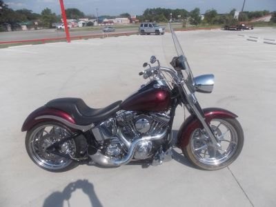 2004 Harley-Davidson FLSTF/FLSTFI Fat Boy Cruiser Motorcycles Springtown, TX