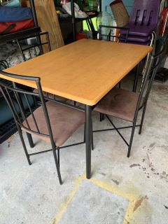 Table and 4 Chairs