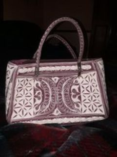 Hand crafted purse