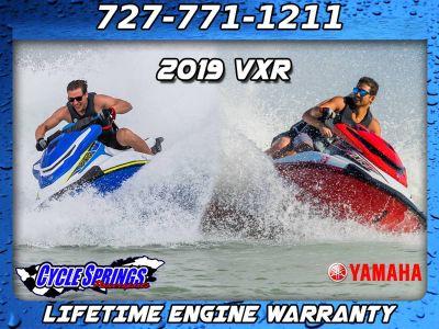 2019 Yamaha VXR **FREE LIFETIME WARRANTY & ACCESSORIES** PWCs Clearwater, FL
