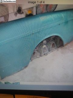 Type 3 rear fenders and front hood