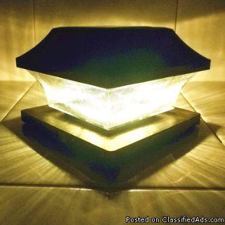 solar post lantern