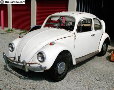 1967 Beetle with Sunroof