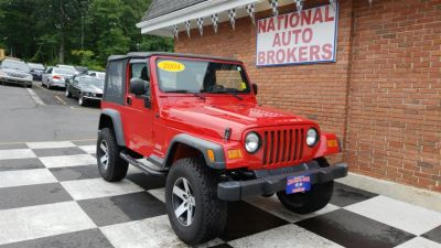 2004 Jeep Wrangler SE (Flame Red)