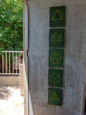 "Original copies "" Elements/Sacred Geometry"""