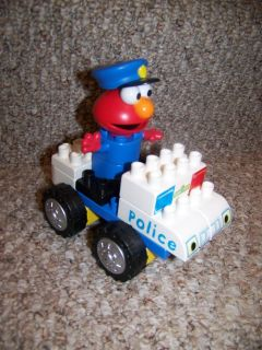 Elmo K'Nex Police Car Building Set