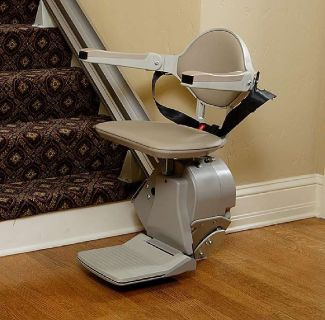 Straight and Curved Stairlifts offered by O'neill Stairlifts in Maryland