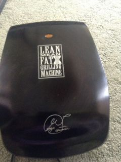 Small George Foreman Lean Mean Fat Reducing Grilling Machine