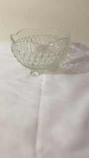 3x5 glass bowl with legs
