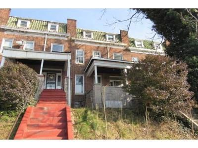 3 Bed 1 Bath Foreclosure Property in Baltimore, MD 21217 - Reisterstown Rd