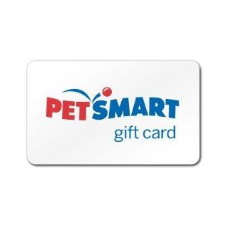 Pet Smart Gift Card with $45 on it.