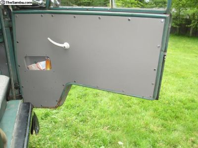 '64-'67 snap hole door panels with pockets