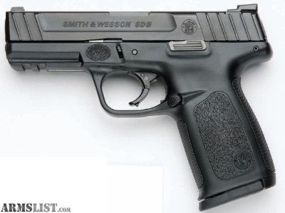 For Sale: S&W SD9