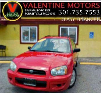 2004 Subaru Impreza 2.5 TS (San Remo Red)