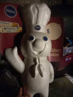 Vintage Pillsbury dough boy sign
