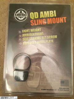 For Sale: LWRC QD AMBI SLING MOUNT