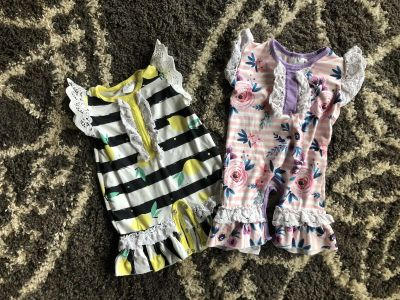 0-3 month Rompers
