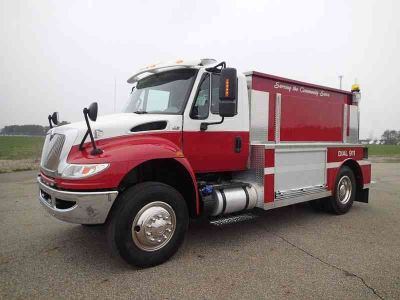 2016 International Tanker Fire Truck