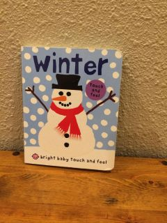 Winter touch and feel board book