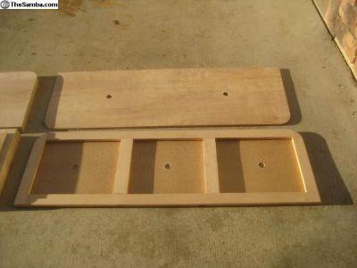 Binz Crewcab Rear Seat Wood Frame