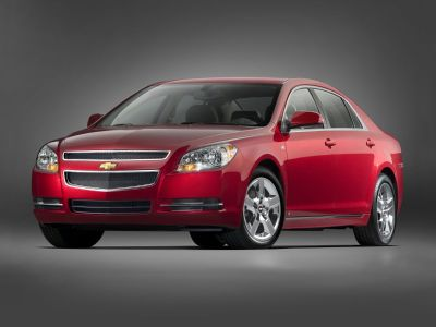 2009 Chevrolet Malibu LTZ (Summit White)