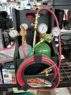 Hobart oxy acetylene cutting and welding outfit