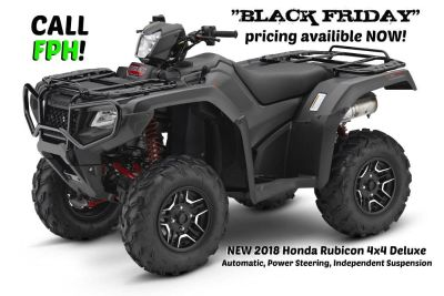 2018 Honda FourTrax Foreman Rubicon 4x4 Automatic DCT EPS Deluxe Utility ATVs Erie, PA