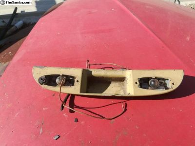 Decklid light housing